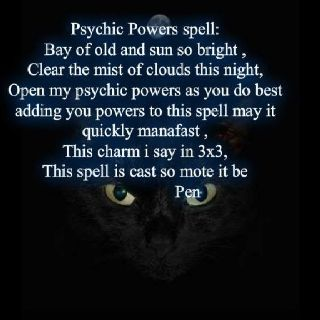 Psychic Power Spell www.psychickerilyn.com www.facebook.com/PsychicKerilyn