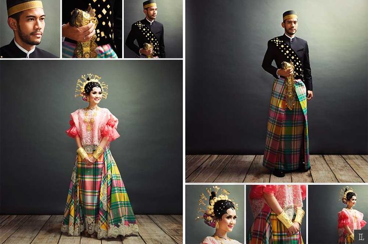 Baju bodo by Edward Hutabarat. Bugis wedding - www.thebridedept.com