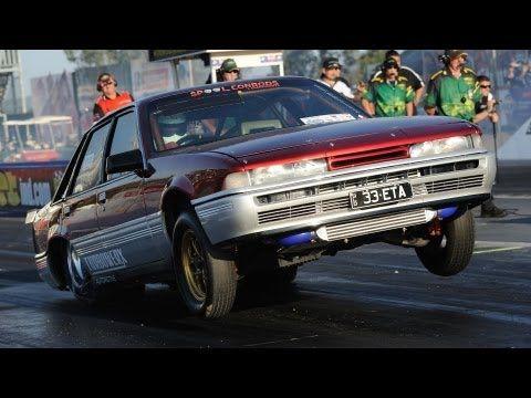 Ford 4L turbo Holden VL Calais - Turbowerx - YouTube