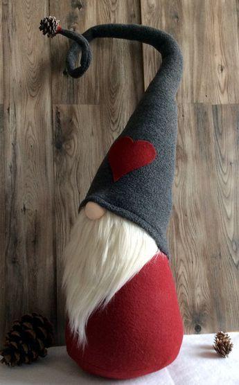 Jumbo Valentine's Day Gnome Ollie