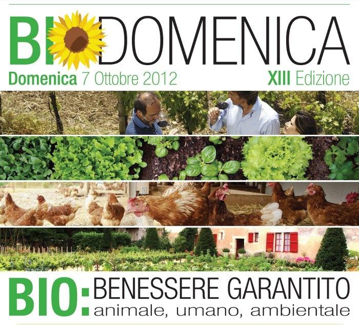 BioDomenica: l'agricoltura biologica scende in piazza – 7 ottobre 2012