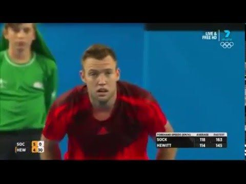 Jack Sock gives point to Lleyton Hewitt in incredible moment of sportsmanship | For The Win