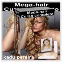 Curso Profissionalizante de Mega-Hair Completo - Por Kadu Pereira Curso online único no mercado na área da beleza, de muito interesse entre cabeleireiros e profissionais que atuam em salão de beleza, ou que querem impulsionar suas carreiras. Neste curso você vai entender tudo sobre MEGA-HAIR DE QUERATINA! Todos os segredos, passo a passo em detalhes! Ao adquirir o treinamento você se tornará um especialista em alongamento de cabelos! Neste curso esta incluso certificado de conclusão…