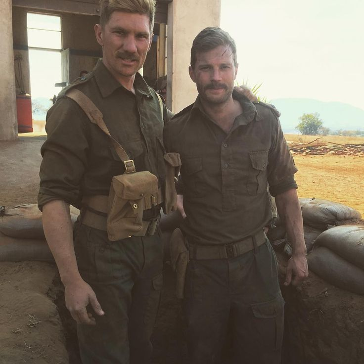 Jamie Dornan BTS on the set of The Siege at Jadotville  http://www.everythingjamiedornan.com/  http://www.everythingjamiedornan.com/gallery/thumbnails.php?album=35