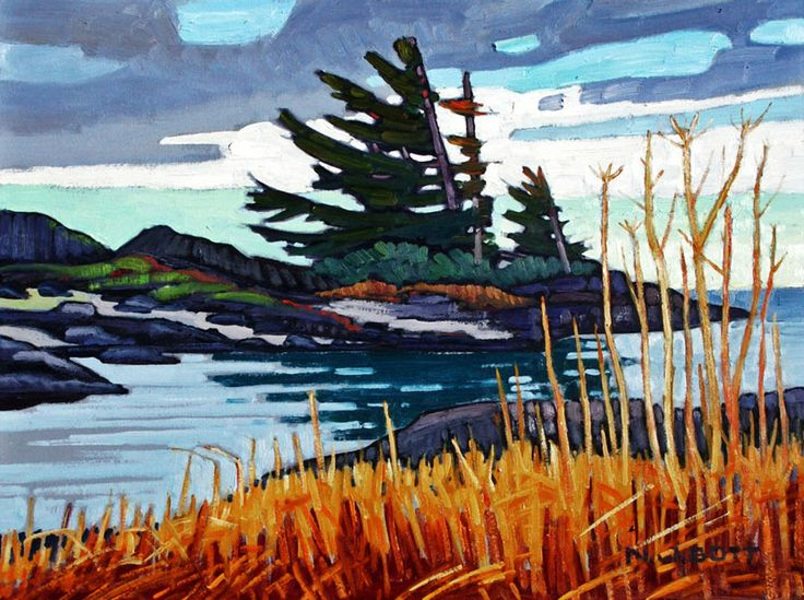 """Wickaninnish Bay,"" by Nicholas Bott - 12x16"