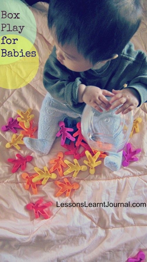 @LLJournalAust: See how easy it is to turn boxes into engaging play for babies. #lessonslearntjournal #babyplay