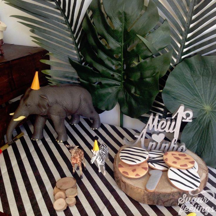 Bolachas - Animais da selva