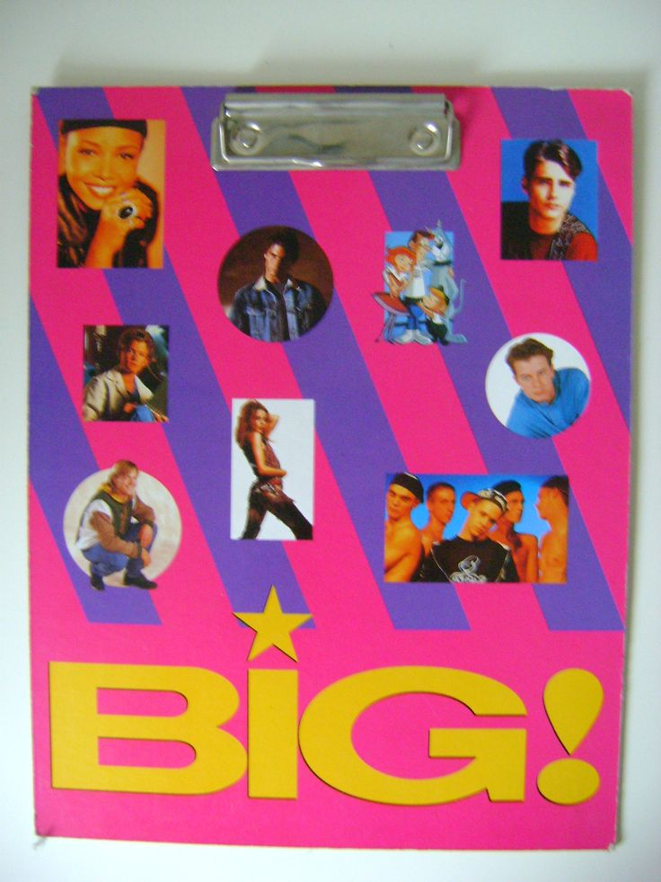 Free clipboard with BIG magazine. 100 points to who can name everyone!