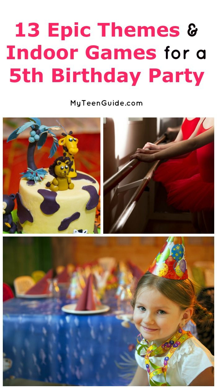 13 Epic Indoor Birthday Party Games For 5 Year Old