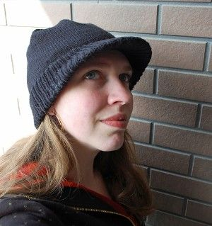 Free PDF pattern for this hat :) Finally found a good brim hat pattern!