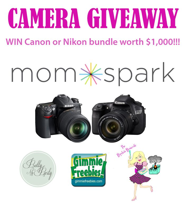 canon camera giveaway 2019 http www prettymyparty com giveaway win a canon or nikon 6639