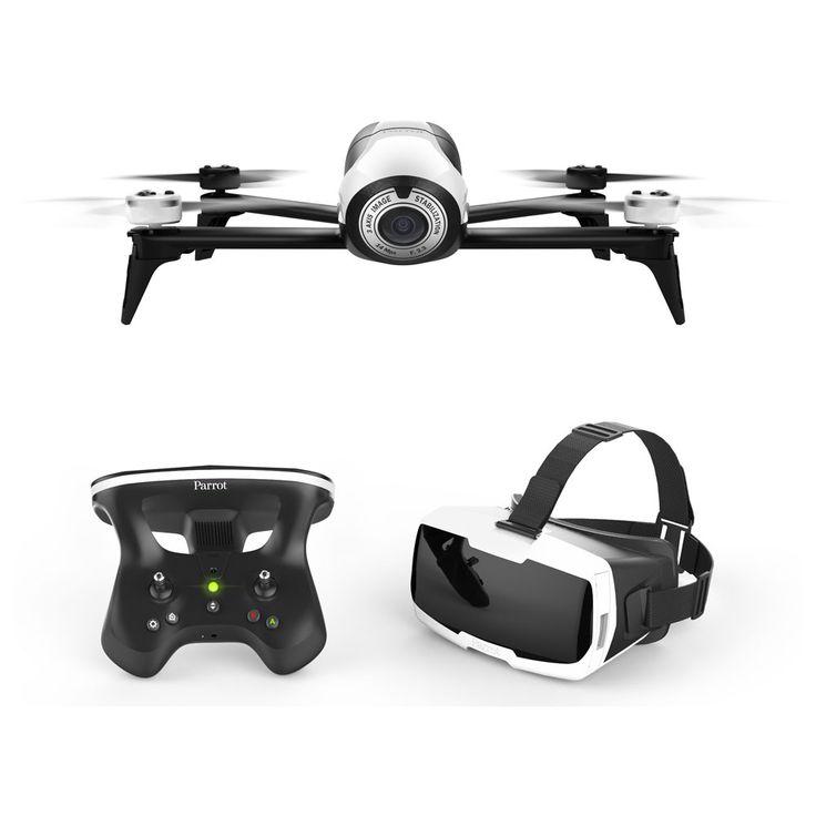 Drone Parrot BEBOP 2 FPV 2017 - Dispo chez www.glisshop.com #Bebop2 #drone #ski #snowboard #WinterYourLife