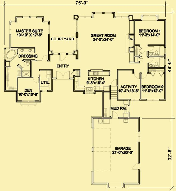 102 best House Plans images on Pinterest Architecture Home and