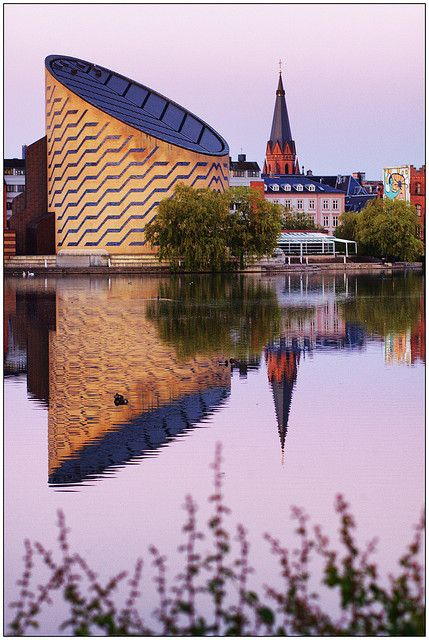 Copenhagen Planetarium, Denmark - I think I'll take a little trip there this weekend (that's one of the perks in living here, I can visit this and Tivoli anytime I want!)