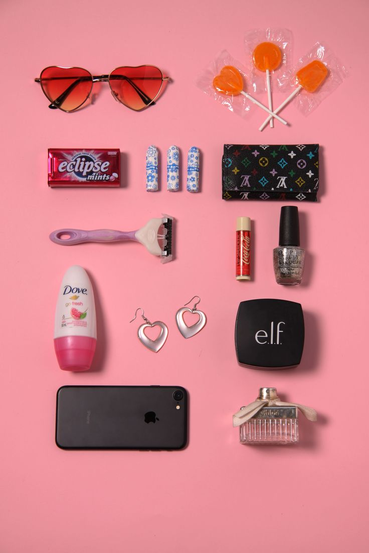 flatlay after