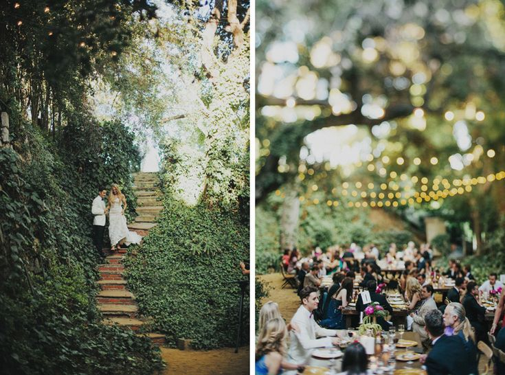A vintage-inspired Bel Air wedding by Tyler Branch Photo - Wedding Party