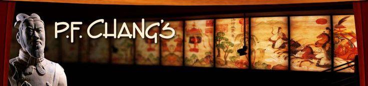P.F. Changs ~ LOVE!