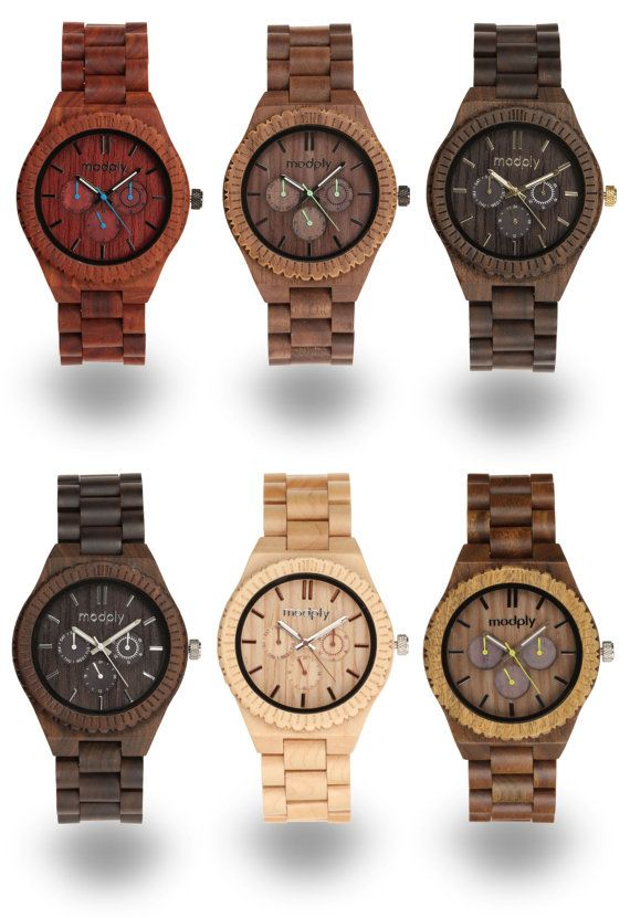 wooden handmade bamboo minimalist s cool wood light head quartz design watch deer nature men item watches