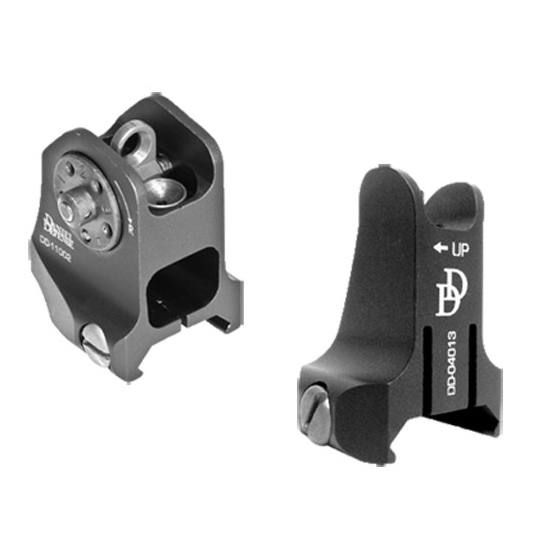 Daniel Defense Rail Mount Fixed Front/Rear Sight Combo
