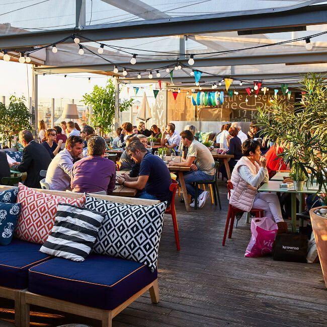 Design bedrooms, rooftop, restaurant & brunch in Bordeaux