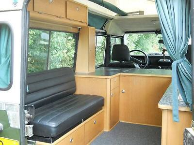 Land Rover Defender 110 caravan convert.