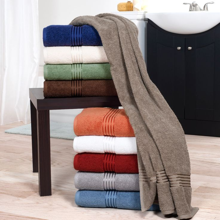 Trademark Windsor Home 100-percent Cotton Hotel 6-piece Towel Set in