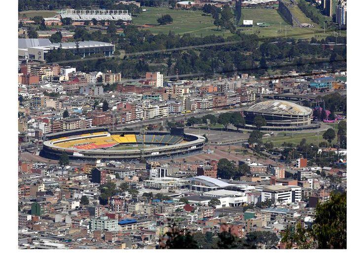 Así se ven algunos lugares de Bogotá desde la altura de Monserrate