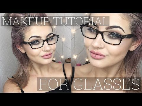 Full Makeup Tutorial For Glasses Wearers // Jamie Genevieve - YouTube
