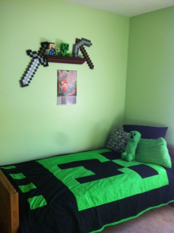 19 best minecraft bedroom images on Pinterest