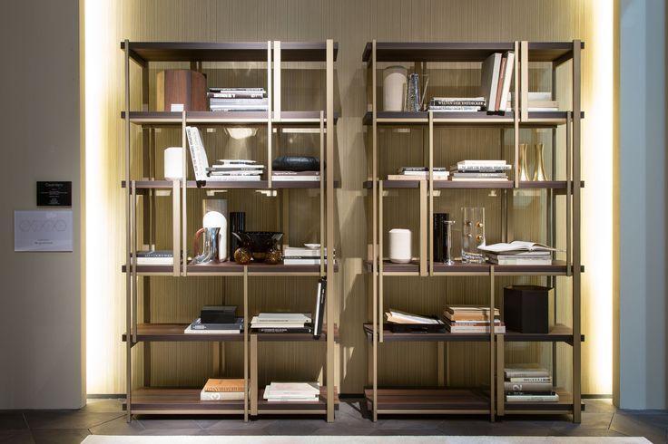 MONDRIAN bookshelf by Massimiliano Raggi for Casamilano home collection. More on http://www.casamilanohome.com