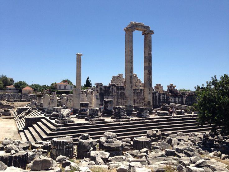 Apollon Temple Tapınağı didyma