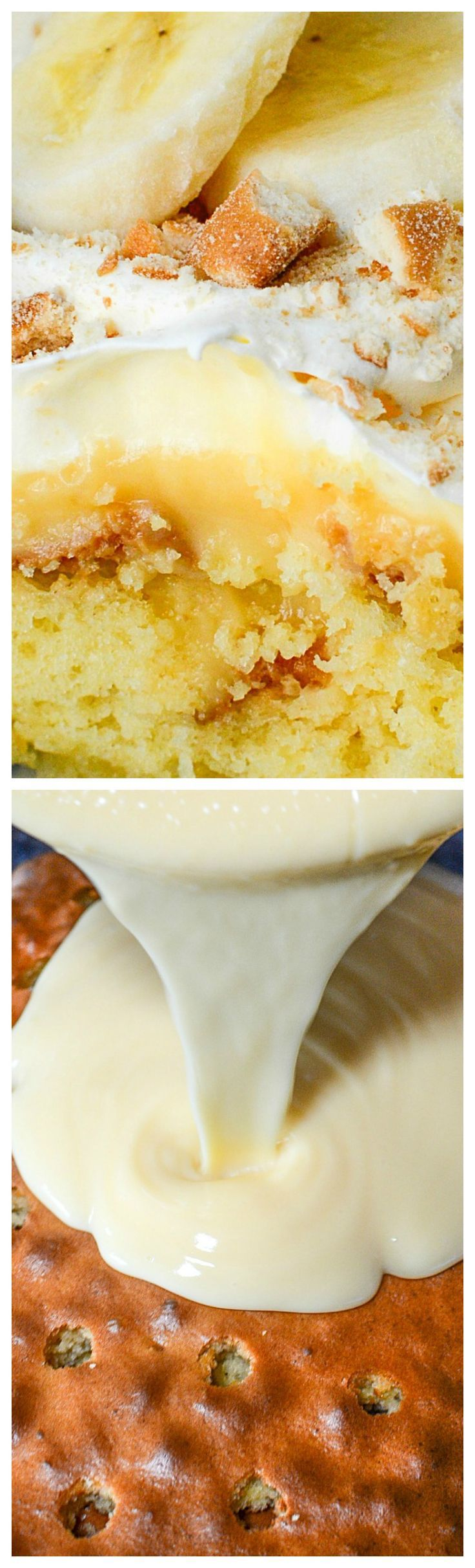 Million Dollar Banana Pudding Lush Cake ~ Purely delicious