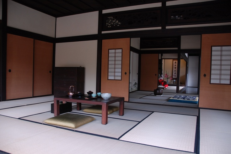Interior of traditional Japanese housing