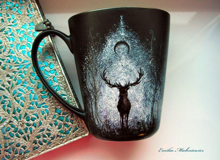 Hand painted porcelain www.facebook.com/EMsilverART