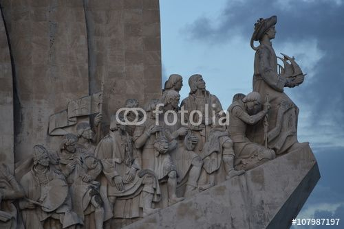 "Download the royalty-free photo ""Monument of the Discoveries, Lisbon, Portugal"" created by Ciaobucarest at the lowest price on Fotolia.com. Browse our cheap image bank online to find the perfect stock photo for your marketing projects!"