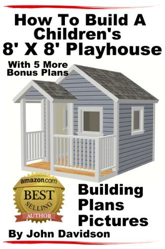 Step by step instructions on how to build a playhouse. With over 100 pictures and illustrations. Also complete video links to watch the author bu ...