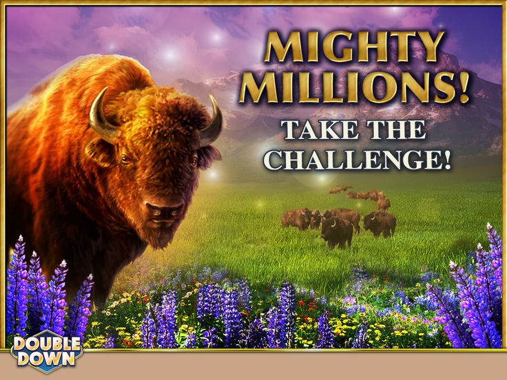 (EXPIRED) The Mighty Millions giveaway starts today in DoubleDown Casino! Just complete your Daily Challenges in the Mighty Bison slots and you're qualified to enter. It's that easy! To get you started, click the pinned link for 150,000 free chips, or use code MTQCGK.