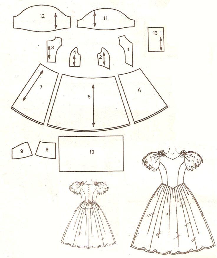 Oi pessoal,   De cada 20 pessoas que entram no meu blog, 5 estão a procura de modelos ou moldes de vestidos infantis.      Atenta a essa e...
