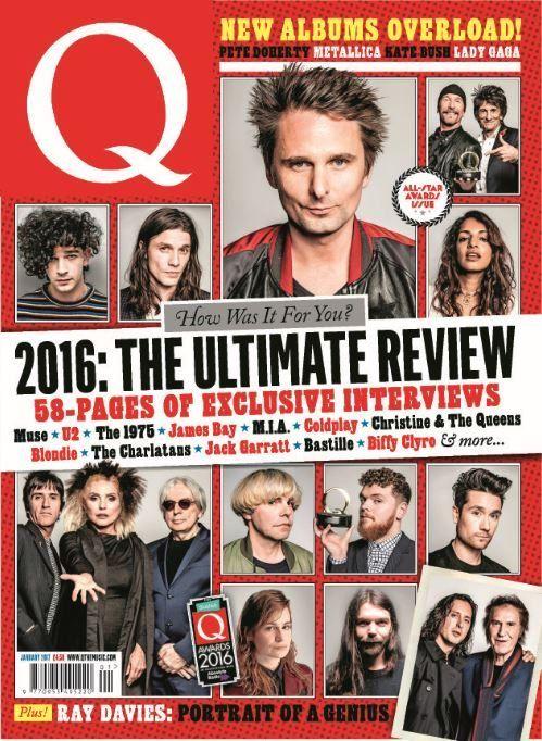 In this <strong>All-Star Awards Issue</strong>:    How was it for you? <em><strong>2016: The Ultimate Review!</strong></em>    58-pages of exclusive interviews:  <ul>   <li>Muse</li>   <li>U2</li>   <li>The 1975</li>   <li>James Bay</li>   <li>M.I.A. Coldplay</li>   <li>Christine & The Queens</li>   <li>Blondie</li>   <li>The Charlatans</li>   <li>Jack Garratt</li>   <li>Bastille</li>   <li>Biffy Clyro</li>   <li>PLUS MORE!</li>  </ul>  New albums overload! Pete Doherty, Metallic