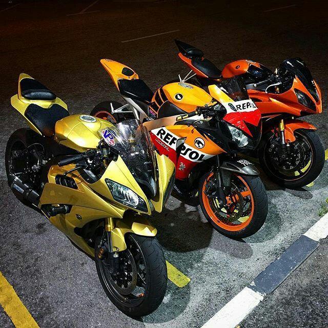 Yamaha r6 x2 honda cbr 1000rr repsol superbikes for Yamaha rr 1000