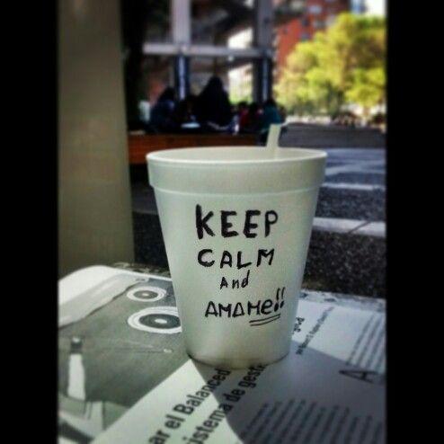 #KeepCalm #And #Amame {ocio en clase}