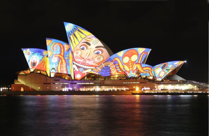 Vivid Sydney  http://www.guiddoo.com/