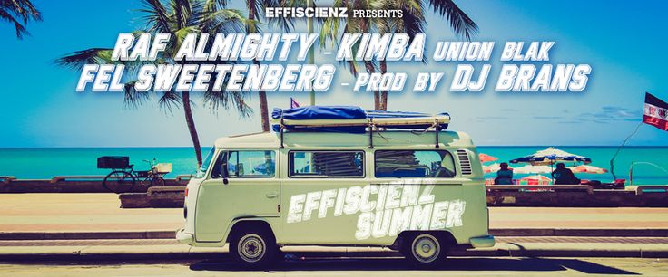 EFFISCIENZ's 'Summer Reunion' joint is an idea from the label's artists to finish this school year and all its projects (Branciano, Union Blak Friday, The Invisible Garden, G.T.F.O.M.Y), as well as to celebrate the magic of summertime all together. It's available for a free download to thank all of those who support Raf Almighty, Fel Sweetenberg, Union Blak and DJ Brans, who came together for this track!