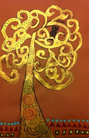 Klimt Tree Of Life Art Lesson InMarienel1&#39...