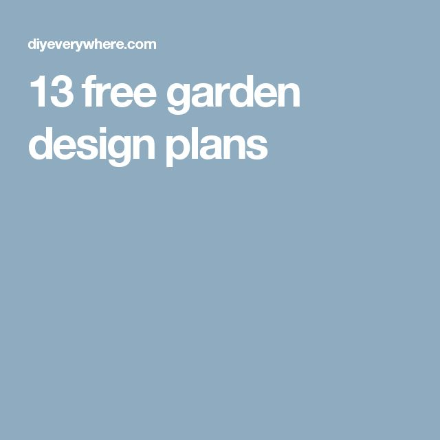 488 best gardening plants images on pinterest - Free garden plans ireland ...