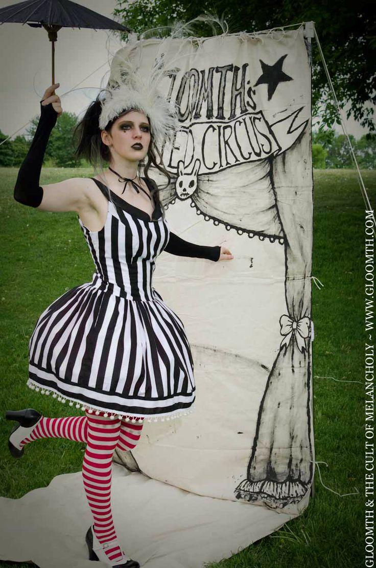 Gloomth's Haunted Circus Spelterini Dress