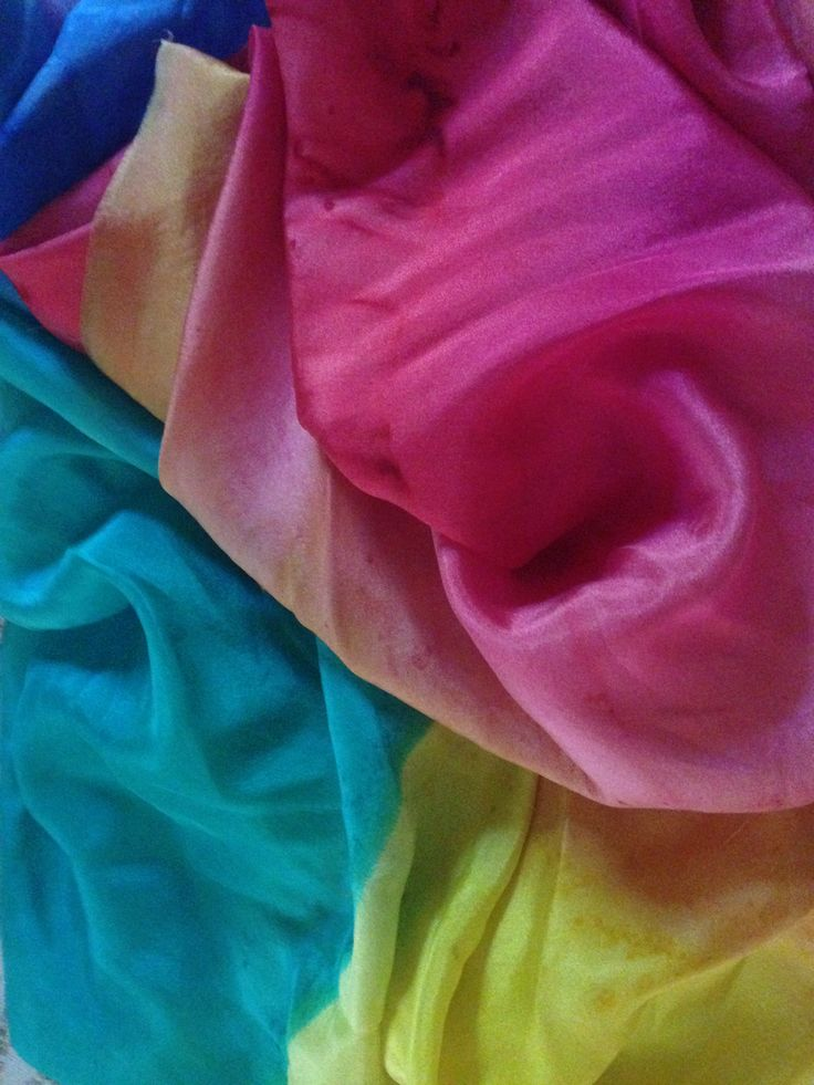Cotton Candy Colours by The Silk Maid