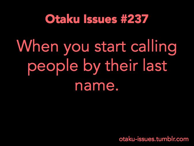Otaku Issues : Photo