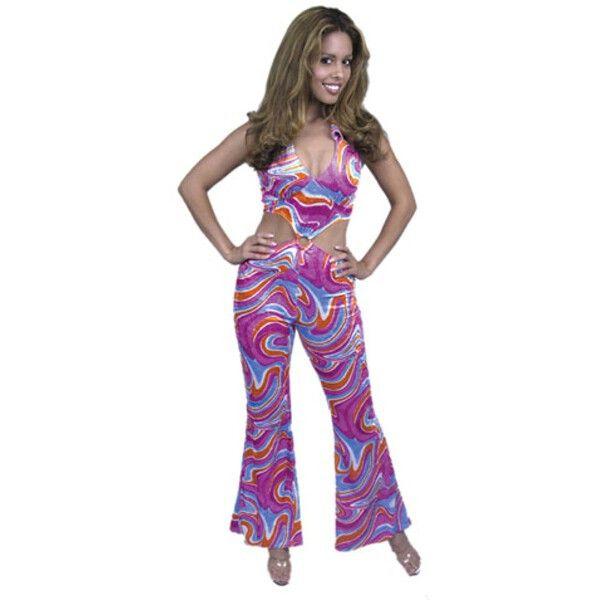 Adult 70s Disco Girl Costume