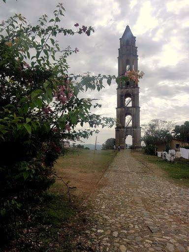Iznaga tower on Valle de los Ingenios